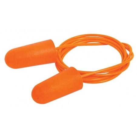 Protector Auditivo De Espuma Con Cordón Para Cuello Protector de orejas para construcción reductor de ruido para oído