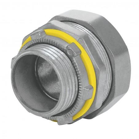 """Conector recto para tubo liquid tigth de 1 pulgada 1"""" Conector para manguera de plástico Manguera de Metal cubierta de plástico"""