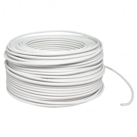 Cable electrico Calibre 8 AWG Blanco rollo de 100 Metros Cable electrico numero 8 Cable Blanco electrico calibre 8AWG