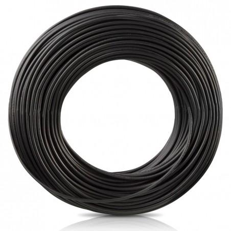 Cable electrico Calibre 8 AWG Negro rollo de 100 Metros Cable eléctrico numero 8 Cable Negro electrico calibre 8AWG