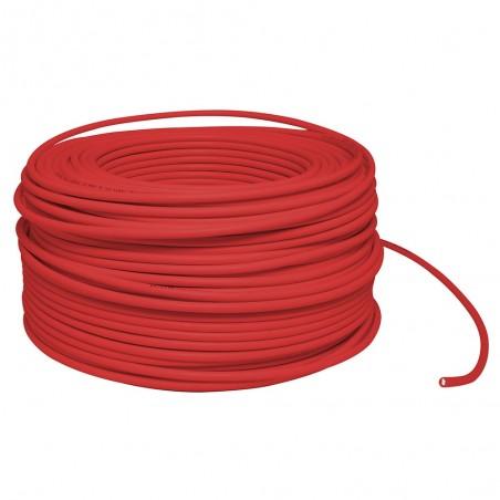 Cable electrico Calibre 8 AWG rojo rollo de 100 Metros Cable eléctrico numero 8 Cable Rojo electrico calibre 8AWG