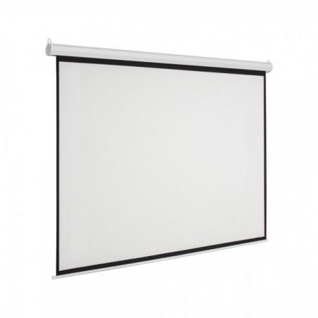 """Pantalla para sala de juntas, Pantalla de proyección para proyector con control remoto Automática 90""""x120"""" (2.25 x 3.05 mts)"""