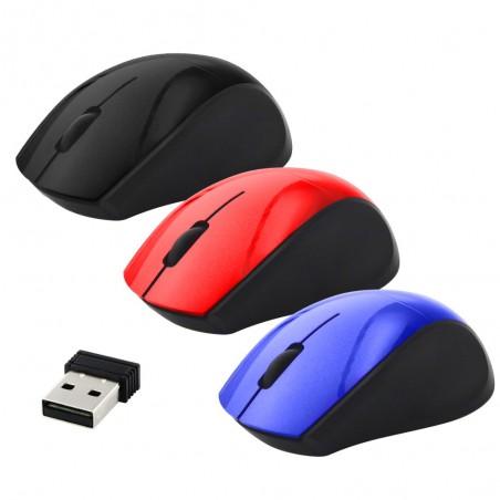 Mini mouse inalambrico Mouse con pilas Mouse chico Fifi para laptop, Computadora, Mac
