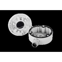 Caja de Conexiones de Metal / Compatible con Hilook, Hikvision y Epcom Caja metálica de conexiones Exterior