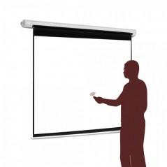 """Pantalla para sala de juntas, Pantalla de proyección para proyector con control remoto Automática 70""""x70"""" (1.78 x 1.78 mts)"""