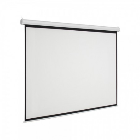 """Pantalla para sala de juntas, Pantalla de proyección para proyector con control remoto Automática 60""""x80"""" (1.52 x 2.03 mts)"""