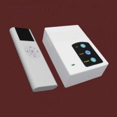 """Pantalla para sala de juntas, Pantalla de proyección para proyector con control remoto Automática 60""""x60"""" (1.52 x 1.52 mts)"""