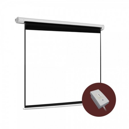 "Pantalla para sala de juntas, Pantalla de proyección para proyector con control Alambrico Automática 108""x144"" (2.74 x 3.66 mts)"
