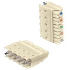 (Paquete de 10 piezas) Galleta de 4 pares Telefonico Galleta para Telefonia Regleta 110 RJ45 Galleta para Regleta Telefonica