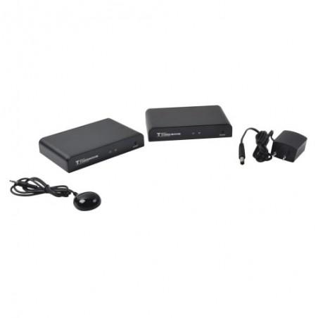 Kit extensor HDMI de 120 Metros con cable UTP Cat5e / Cat6 1 UTP Cable de Red Extender HDMI 100 Metros