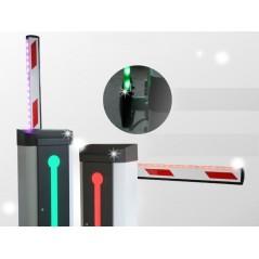 Brazo recto de 3 metros Brazo led para Barrera Vehicular Brazo para acceso de Carro tipo LED Brazo de 3 Metros