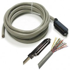 Cable Amphenol de 1.5 Metros Cable de 25 pares Amphenol Cable Cable Gris Cable Multipar Amphenol