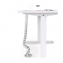 Espiral Agrupa Cables tipo Vertebra Vertical Protector de cables para escritorio Protector para Cables flexible