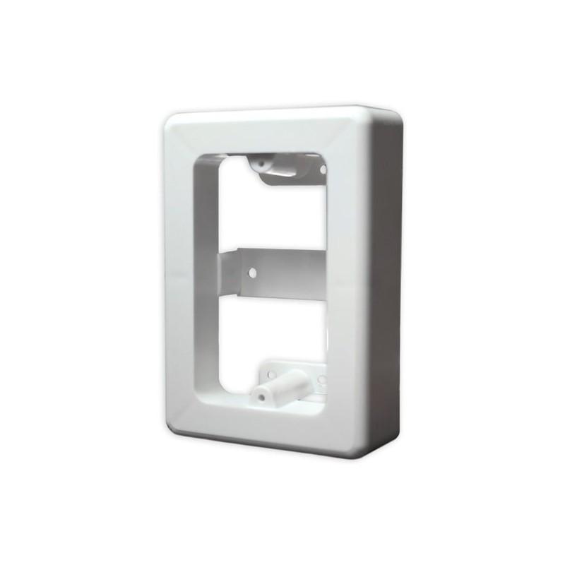 Caja aparente de sobre poner Caja universal de PVC Caja para tapa Caja para Faceplate Caja de PVC Chalupa 2x4 Blanca