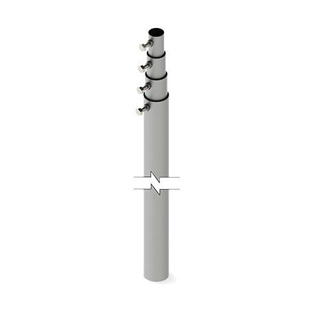 Mástil Telescópico de 12 m. (Requiere accesorios de Instalación) Mástil Poste