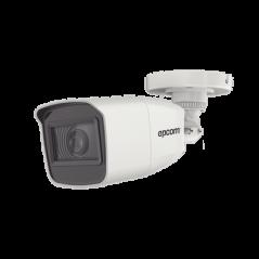 Bala TURBOHD 2 Megapixel (1080p) / Lente Mot. 2.7 mm a 13.5 mm / 70 mts IR EXIR / Exterior IP66 METAL