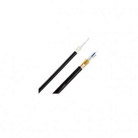 (Venta x Metro) Fibra Óptica de 6 hilos, Multimodo OM3 50/125 Interior/Exterior Dieléctrica Plenum