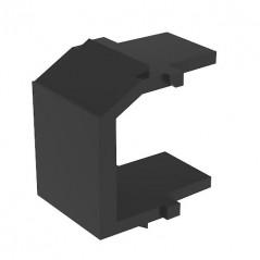 (Paq. de 10 piezas) Modulo ciego para faceplate placa de pared inserto ciego negro para placa NETKEY by PANDUIT