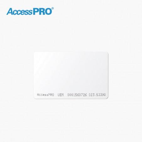 Tarjeta Tecnología Dual: RFID (UHF) 900 MHz/Proximidad 125 kHz para Uso en Oficinas y Estacionamientos