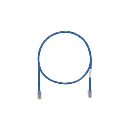 Cable de parcheo UTP Categoría 5e, con plug modular en cada extremo - 1 m. - Azul Patch cord Azul 1 Metro Netkey by PANDUIT