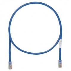 Latiguillo UTP de categoría 6, con conectores modulares TX6™ PLUS en cada extremo. Azul, 30 ft