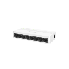 Switch No Administrable de Escritorio de 8 Puertos Fast Ethernet 10 / 100 Mbps Divisor de Señal de internet 8 salidas
