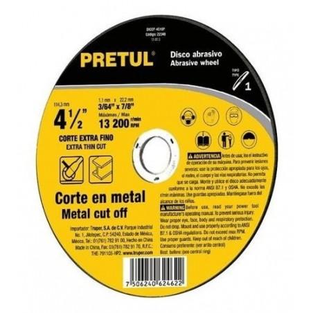 """Disco de Corte para Metal Disco para Metal de 4 1/2"""" pulgadas Disco para Metal Disco de corte de 4"""" Pulgadas y Media"""