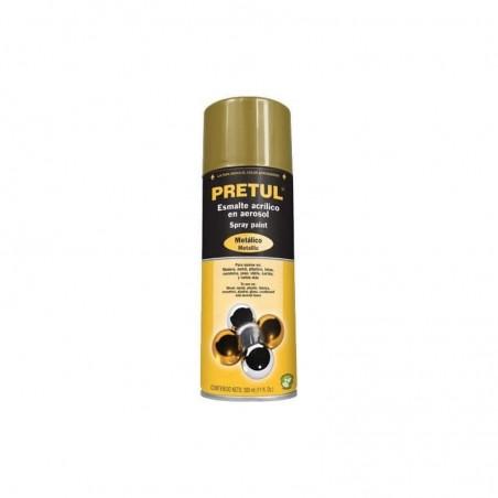 Spray Color Dorado Oro Pintura en Spray aerosol Dorado tipo Oro Pintura Color Oro en spray Pintura color Dorado Bote de 340g
