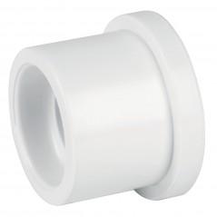 """Ruductor de Campana para tubo de PVC de 1"""" Pulgada a 3/4"""" Tres Cuartos Reductor para Tubo de Agua Blanco de PVC"""