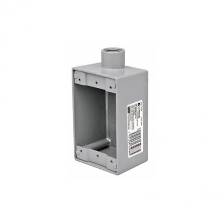 """Caja de Metal tipo FS Chalupa de Metal tipo FS de 3/4 Condulet 3/4"""" conexión tipo FS, Voltech Caja para Tubo Conduit"""