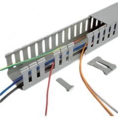 """Espiral Blanco Agrupa Cables Organizador de Cables 1/4"""" Rollo 10m Organizador De Cables En Espiral De 1/4 Blanco Utp Redes Tele"""