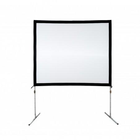 "Pantalla Multimedia para piso Pantalla para presentaciones, Sala de Juntas, Pantalla para proyector (108""x144"" / 2.74x3.66 MTS)"