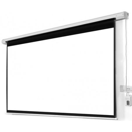 """Pantalla Electrica para presentaciones, Sala de juntas, Salon de Clase, Presentaciones 58""""x104"""" (1.47x2.64 MTS) para proyector"""