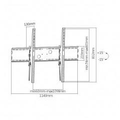 Eyeball TURBOHD 5 Megapixel / Gran Angular 86º / Lente 2.8 mm / 20 mts IR EXIR / Exterior IP67 / TVI-AHD-CVI-CVBS / dWDR