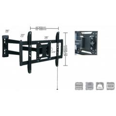 "Soporte para Monitor Articulado Brazo Soporte para pantalla Universal Plasma, LCD, Led de 32"" a 42"" inclinación 15° hasta 40 kg"