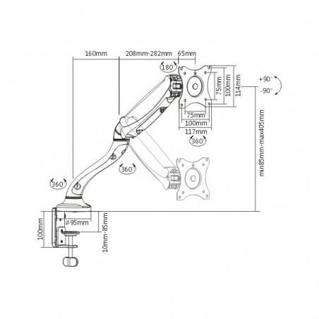 Bobina de cable de 305 m Cat5e, para interior, alto desempeño, de color Gris, UL, para aplicaciones en CCTV, redes de datos.