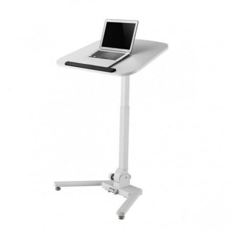 Estación de Trabajo Mesa para trabajar neumática con sistema plegable al piso Multiniveles Mesa de Trabajo ergonómica