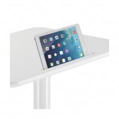 Mesa de Trabajo estación de trabajo linea ergonómica altura ajustable suave Ideal para trabajos sentados o de pie.