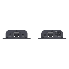 Extensor Hdmi Por Utp Cat6 50mts 1080p Extender HDMI Activo hasta 50 Metros por Cable UTP de Red Cat5e Cat6 Cat6a con IR