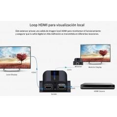 Cable extensor con conector tipo aviación de 11m solo para soluciones de videovigilancia móvil XMR