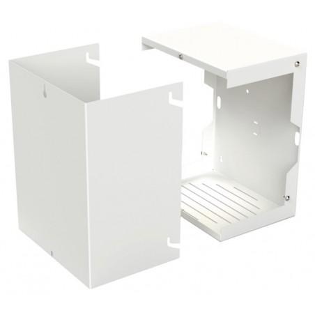 Gabinete para Resguardo de Sirena de 30 W (no incluida) Sin Placa para tamper. Caja de protección para sirena de alarma