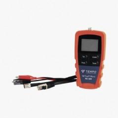 Probador de Cable de Red para UTP, STP y Cable Coaxial