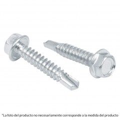 "(Venta por pieza) Pija punta de Broca Tornillo Punta de Broca con cabeza Hexagonal Pija de 2"" Pulgadas Cabeza Hexagonal"