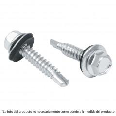 "(Venta por pieza) Pija punta de Broca Tornillo Punta de Broca con cabeza Hexagonal Pija de 1 1/2"" Pulgada Cabeza Hexagonal"