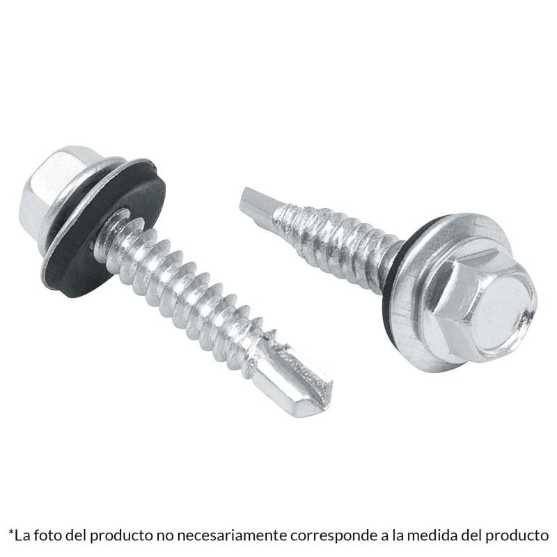 "(Venta por pieza) Pija punta de Broca Tornillo Punta de Broca con cabeza Hexagonal Pija de 1 1/4"" Pulgadas Cabeza Hexagonal"