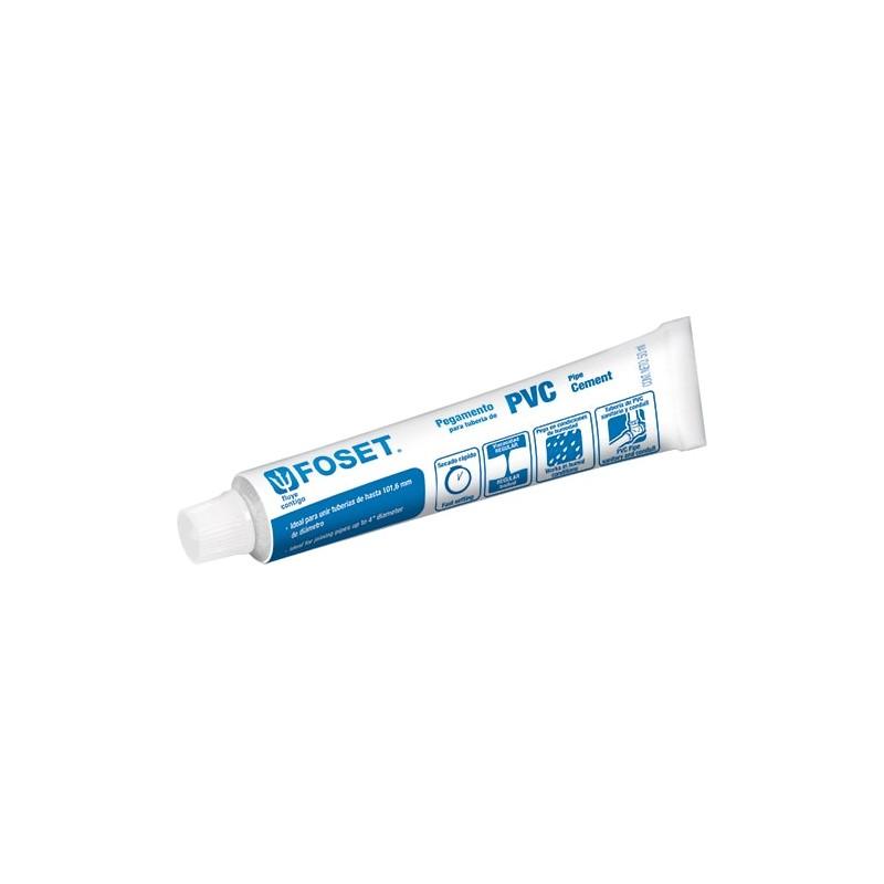 """Cemento para tubo de PVC cedula 40 Ced. 40 Cemento pegamento para tubo de PVC Blanco Hidráulico pega hasta 4"""""""