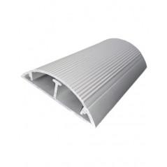 Canaleta de Aluminio Canaleta de Piso de 2 metros 17x60mm a 2 metros Canaleta metalica para Redes, hasta 6 Cables Cat. 6