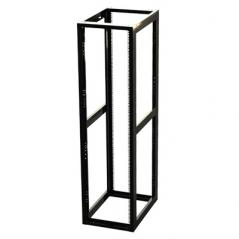 """Rack Estándar 19"""" de 4 Postes, Acero, 45 Unidades, Profundidad Ajustable Cuadra Rack de 45ur"""