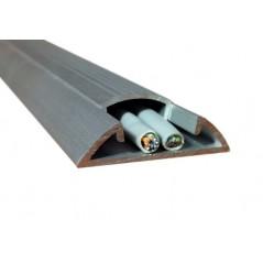 Canaleta para Piso Metalica Canaleta Metalica Canaleta de Aluminio para 2-3 Cables Canaleta de 2.5 Metros