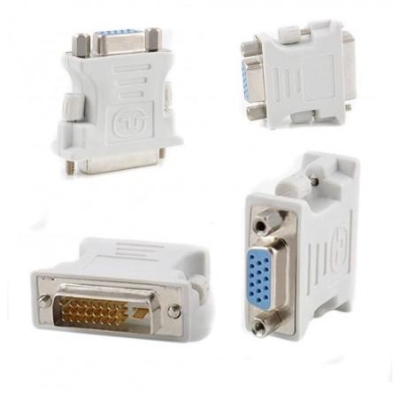 Adaptador Vga Dvi D Dvi I 24+1 24+5 Dual Convertidor Video Convertidor DVI a VGA Macho Hembra